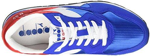 Diadora N-92 - Zapatillas Unisex adulto Rojo / Cielo