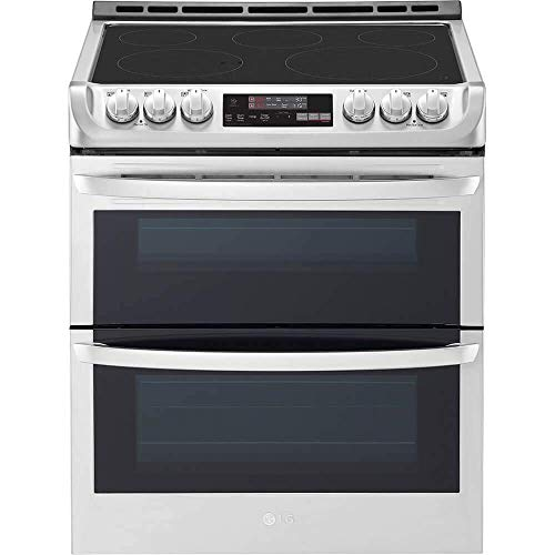 LG LTE4815ST 7.3 Cu. Ft. Stainless Double Oven Electric Range (Renewed)