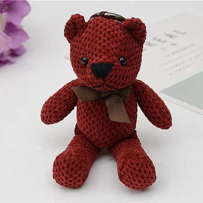 Amazon.com: Rarido - Llavero vintage con diseño de oso de ...