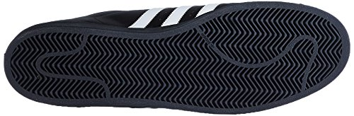 Sneakers Casual Adidas Original Mens Superstar Foundation Nere / Bianche / Nere