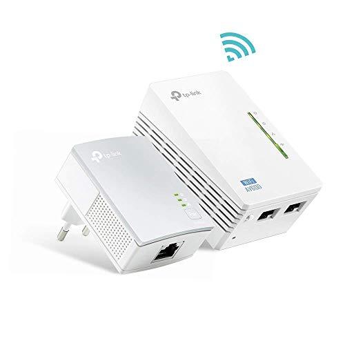 🥇 TP-Link TL-WPA4220 KIT – 2 Adaptadores de Comunicación por Línea Eléctrica