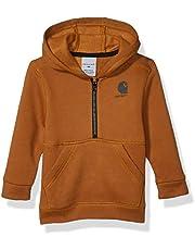 Carhartt Baby-Boys Hooded Half Zip Sweatshirt
