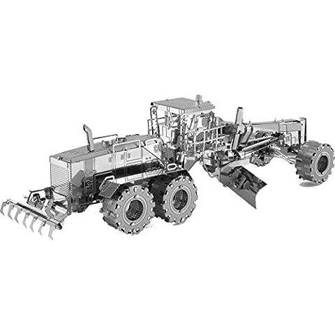 Fascinations Metal Earth CAT Motor Grader 3D Metal Model Kit - Cat Motor Grader