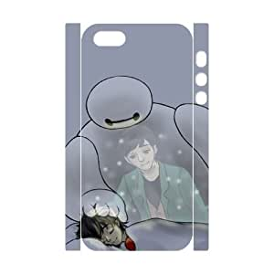 C-EUR Diy case Baymax 1 customized Hard Plastic 3D Case For iPhone 5,5S [Pattern-3]