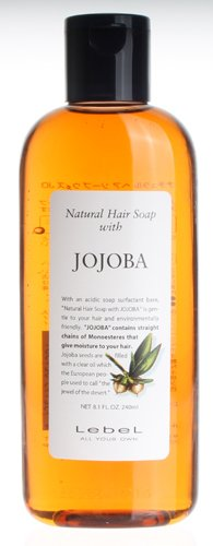 Lebel Cosmetics Natural Hair Soap Shampoo Jojoba - 240ml