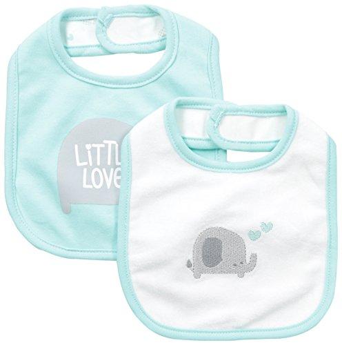 Petit-Lem-Unisex-Baby-Elephant-2-Pack-Bib