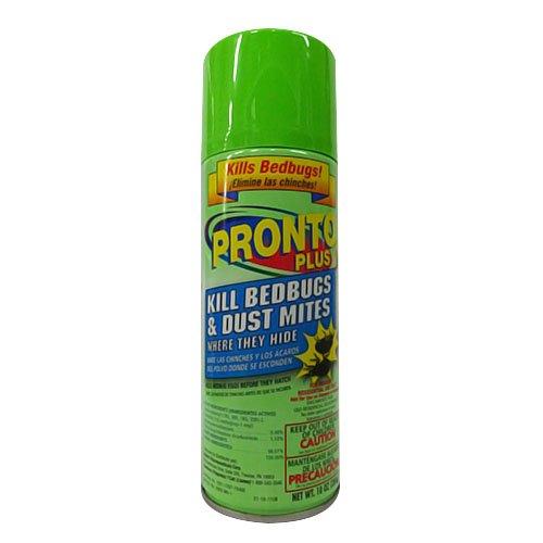 Pronto Plus Bedbug & Dust Mite Killer, Regular Size 10 oz...