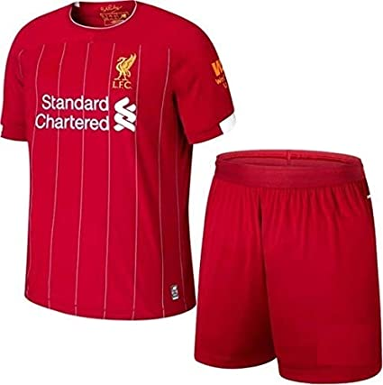 uk availability 14f92 11071 GOLDEN FASHION Non Liverpool Home KIT 2019-20 Jersey with Short