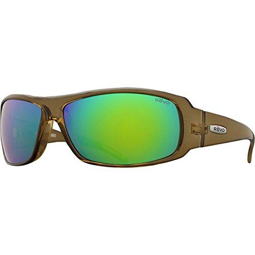 Revo Adult Gunner Polarized Sunglasses, Light Amber/Green Water, One - Sunglasses Revo Polarized