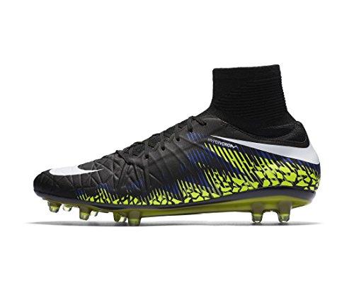 Nike 747214-017, Scarpe da Calcio Uomo Nero (Black / White-volt-paramount Blue)