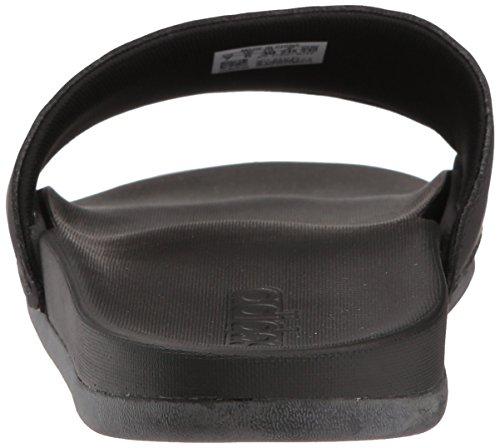 online store 59d96 9e937 adidas Performance Womens Adilette Comfort Sport Sandal, Core Black, Gold  Met, Core Black