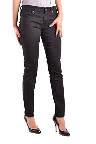 Cotone Mcbi056197o Jeans Nero Donna Burberry qvPHtwxw