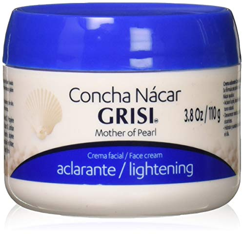 Grisi Mother of Pearl Face Cream Lightening, 3.8 oz (Pack of 3) ()