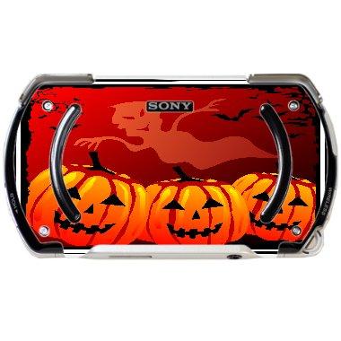 Spooky Halloween Cartoon Printed Design PSP Go Vinyl Decal Sticker Skin by Smarter Designs -