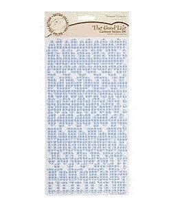 Docrafts Forever Friends - Adhesivos de cartulina (2 packs), diseño de alfabetos