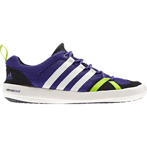 Image result for adidas D66645 Men's Climacool Boat Lace Footwear, Blast Purple/Chalk/Solar Slime- 10