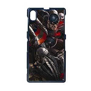 Quilted Phone Cases For Man For Sony L39H Custom Design With Avengers Age Of Ultron 2 Choose Design 3