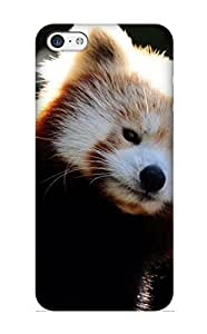 For Iphone 5c Fashion Design Animal Red Panda Case-tpylgz-1968-svuexmx / Cover Specially Made For Thanksgiving Day's Gift