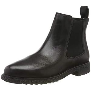 Clarks Griffin Plaza, Women's Chelsea Boots, Black (Black Leather), 6 UK (39.5 EU)