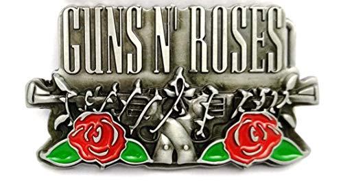 Guns N Roses Rock Band Logo Metal/Enamel Belt ()