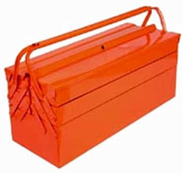 Alte Herramientas Caja P. Herramientas 5 SC. CM. 43 x 20 x 20 chapa: Amazon.es: Bricolaje y herramientas