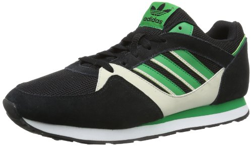 adidas Originals Zx 100-1 D67731 Herren Sneaker Schwarz (CARBON S14 / FAIRWAY / BLISS S13)