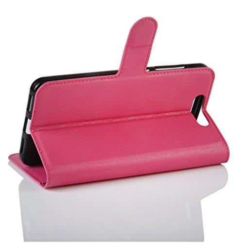 Funda ZTE BLADE V8,Manyip Caja del teléfono del cuero,Protector de Pantalla de Slim Case Estilo Billetera con Ranuras para Tarjetas, Soporte Plegable, Cierre Magnético G