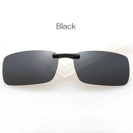 LETAM Gafas de sol Gafas de Sol polarizadas cuadradas Clip ...