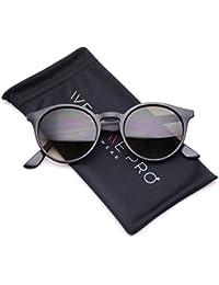 wearme Pro–Clásico Pequeño y redondo retro anteojos de sol