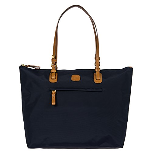 Bric's Women's X x 2.0 Large Sportina Shopper Tote Travel Shoulder Bag, Navy, One Size by Bric's