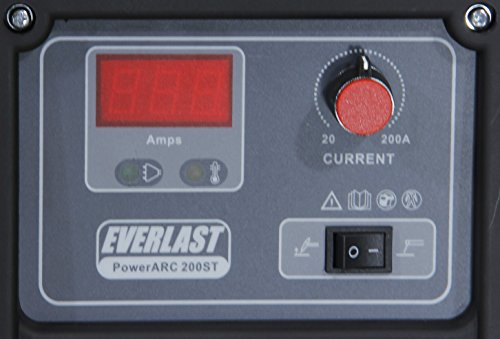 2015 EVERLAST PowerARC 200ST 200amp TIG Stick IGBT Welder 110/220 Dual Voltage
