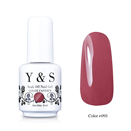 Yaoshun Gel polish, Soak-off  UV LED Nail Art Gel polish 8ml