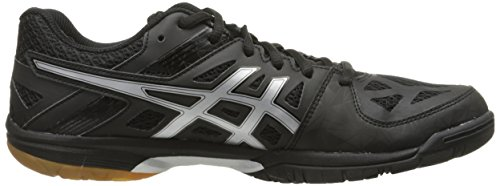 Black Control Silver ASICS Court Women's Volleyball Gel Shoe 8H11OFcfg