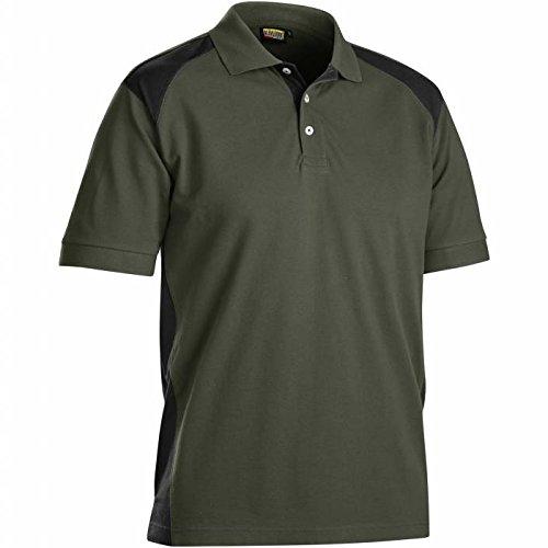 Blakläder 3324105046994x L Hemd Polo Größe 4x L Militärische grün/schwarz