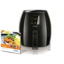 Philips HD9240/90 AirFryer XL, Friggitrice low-oil e multicooker - Capacità 1,2Kg - Avance Collection, colore nero [Classe di efficienza energetica 2.1 kWh/day]