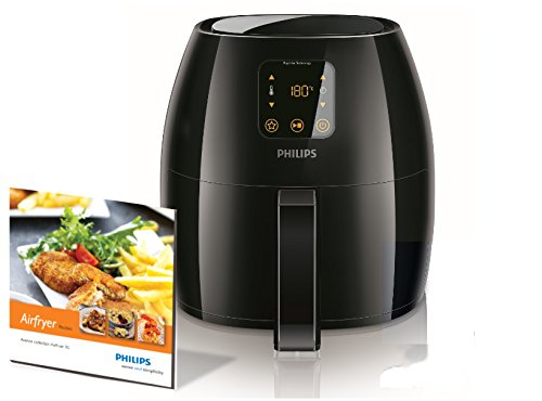 Philips HD9240/90 Avance Collection Airfryer Extra-Large, 2100 Watt - Black