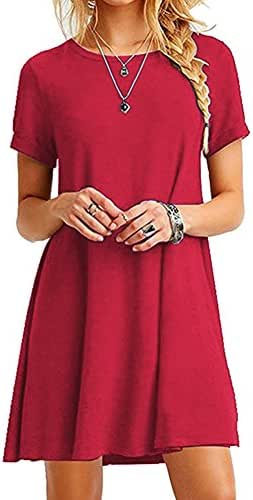 Ishowstore Splicing Short Sleeve Dress Spring Explosive Style Loose and Thin Women's Clothing