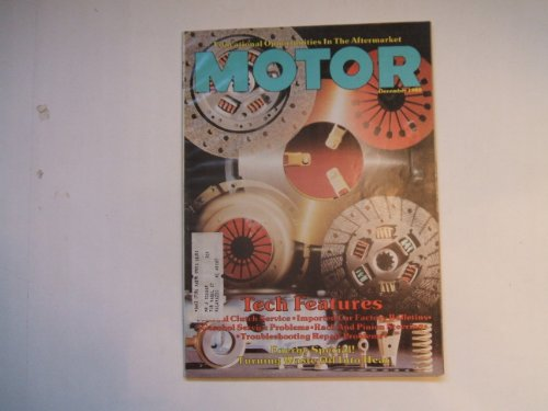 Motor Magazine December 1980 (ENERGY SPECIAL! TURNING WASTE OIL INTO HEAT - TECH FEATURES - GASOHOL SERVICE PROBLEMS - RACK AND PINION STEERING, VOLUME 154 NO. ()