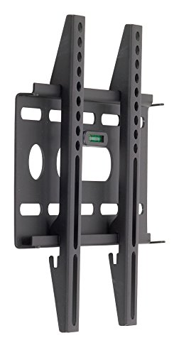 RCA MAF15BKR Slim Profile Design 15-32 Inches LCD/LED TV Wall Mount with Built-in Bubble Level, Black (Rca 32 Inch Led)