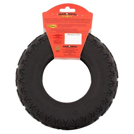 Mammoth New Black 2 Pack of 8 Inches Tire Biter Tire for Dogs up to 50 lbs.