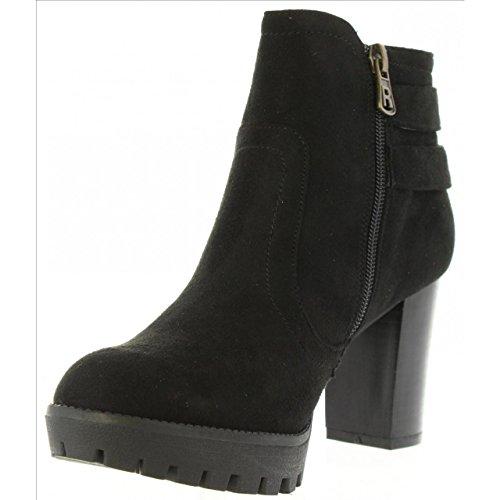 ... Refresh Stiefel für Damen 63649 Antelina Negro ...