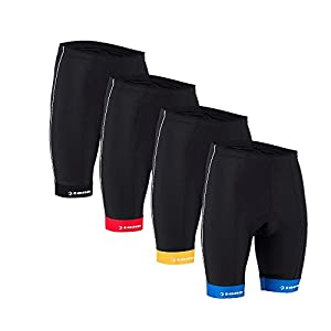 Mens Coolflo+ 8 Panel Cycling Shorts - Black - XL