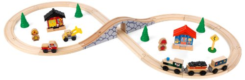 KidKraft Figure 8 Train Set (Set Train Plastic)