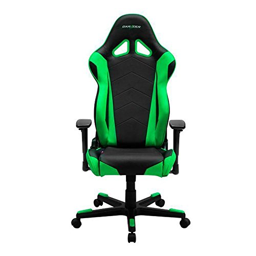 DXRacer-OHRE0NE-Black-Green-Racing-Series-Gaming-Chair