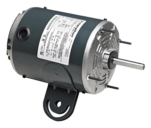 Marathon X925 48Y Frame Totally Enclosed 48A11T2026 Pedestal Fan Motor 1/2 hp, 1075 RPM, 115 VAC, 1 Phase, 2 Speeds, Ball Bearing, Permanent Split Capacitor, Yoke