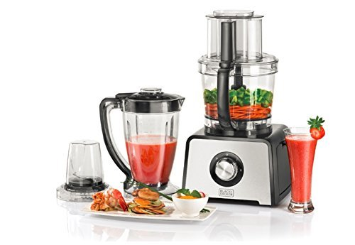 Black & Decker FX810 800-Watt Stainless Steel Food Processor, 220 Volts (Not for USA – European Cord)