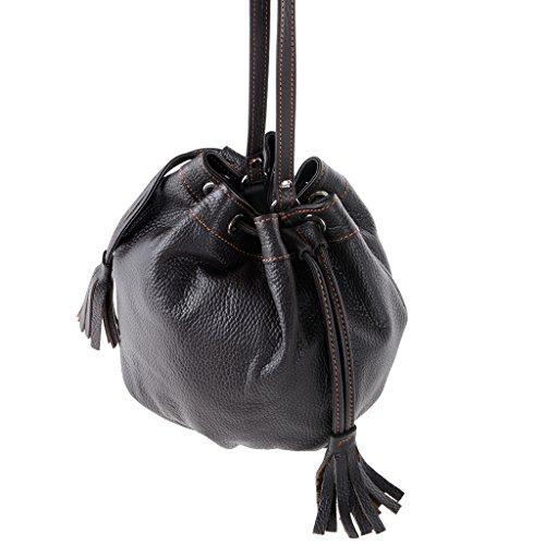 Dudu - Sac porté épaule - Dollaro - Linda - Marron foncé - Femme