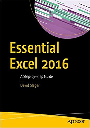 Essential Excel 2016 A Step-by-Step Guide Essential Loaded