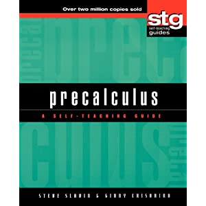 Precalculus: A Self-Teaching Guide (Wiley Self-Teaching Guides) (Paperback)