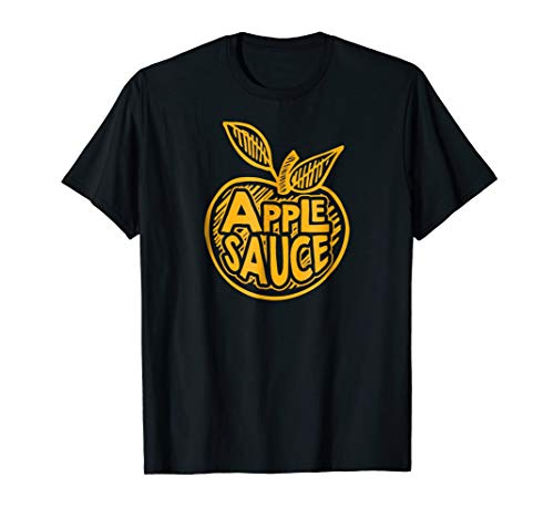 Apple Sauce Food Halloween Party Funny T -